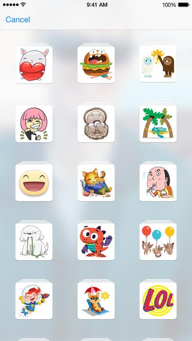 Stickered for Messenger Screenshot