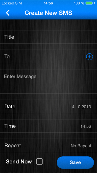autoMessage - Automatic SMS & Email Scheduler Screenshots