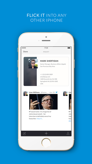 Zap The Digital Business Card on the App Store