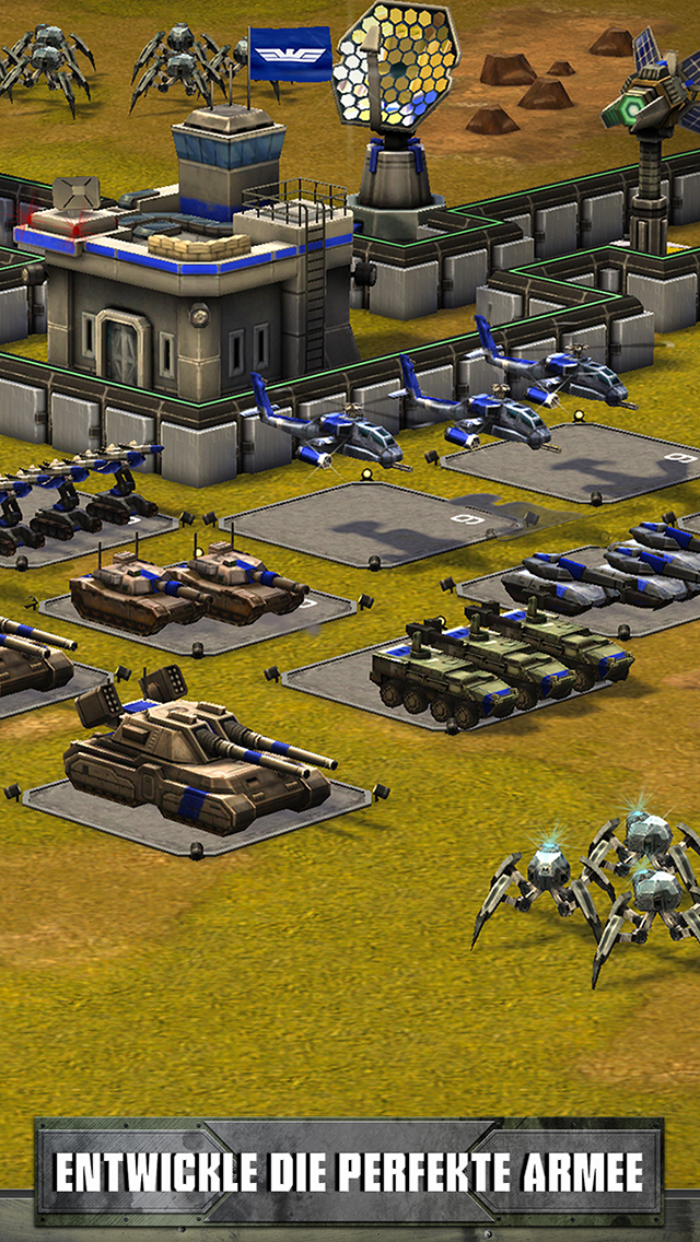 Empires & Allies iOS Screenshots