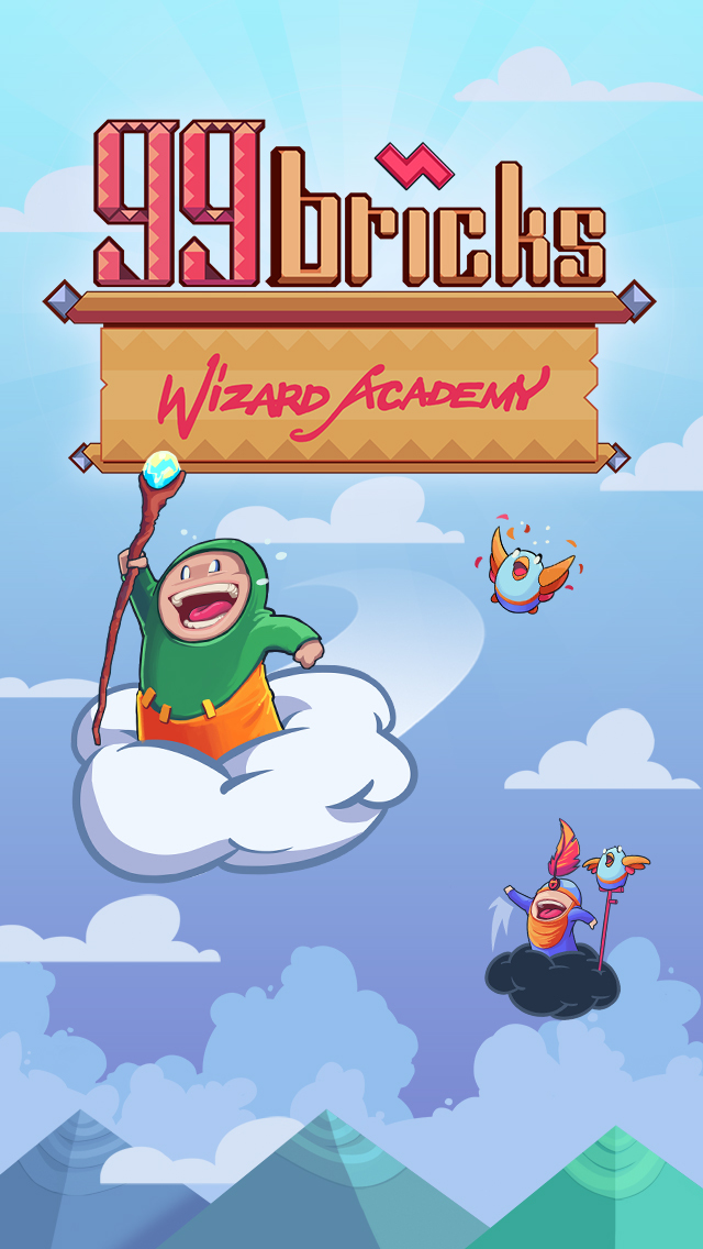 99 Bricks Wizard Academy iOS Screenshots