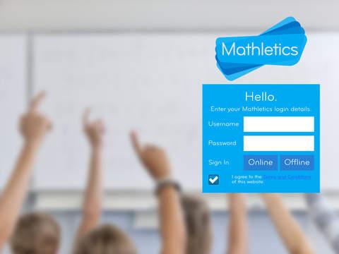 mathletics homework on ipad