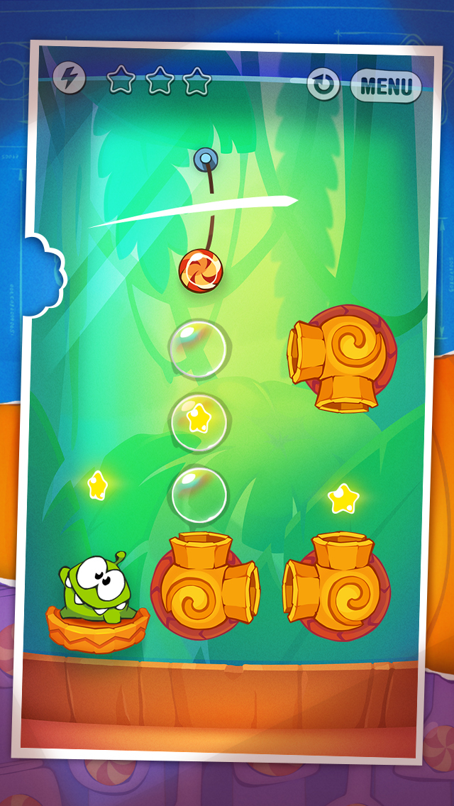 Cut the Rope: Experiments iOS Screenshots