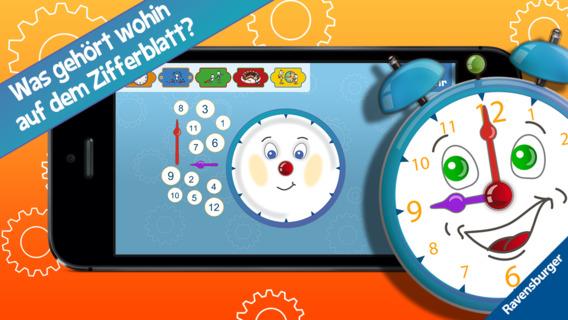 Screenshot 2 Meine erste Uhr – Die Uhrzeit lesen lernen