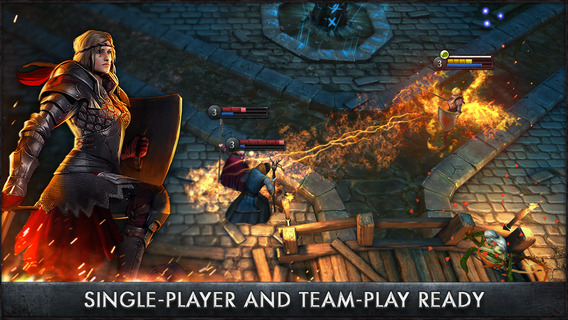 The Witcher Battle Arena iOS
