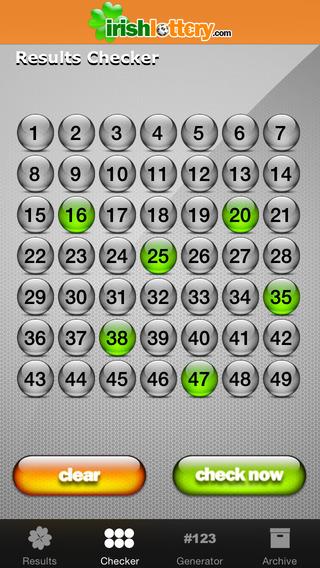 irish lotto archive results