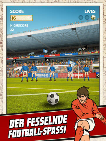 Flick Kick Football iOS