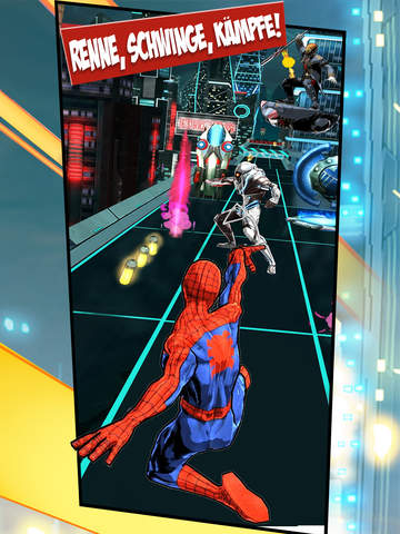 MARVEL Spider-Man Unlimited iOS Screenshots