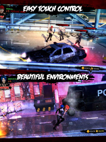 Rock Zombie iOS Screenshots