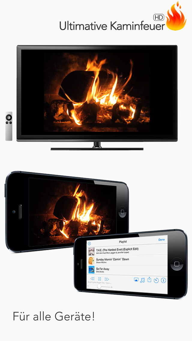 das ultimative kaminfeuer in hd f r apple tv entspannung. Black Bedroom Furniture Sets. Home Design Ideas