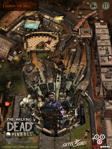 The Walking Dead Pinball iPhone iPad
