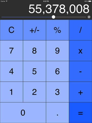 Decimal Calculator (No Ads, Links or IAP) Screenshot 1