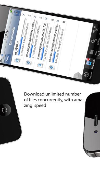 iDownloads PLUS PRO - Downloader and iDownload Manager Screenshot
