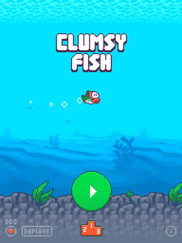 Clumsy Fish iPhone iPad
