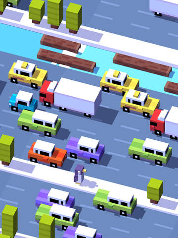 Screenshot 2 Crossy Road
