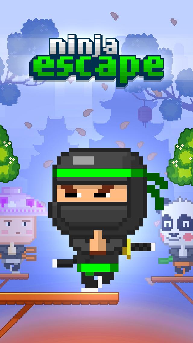Ninja Escape™ iOS Screenshots