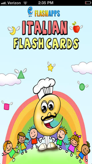 Learn Italian Baby Flash Cards: flash card ad ...