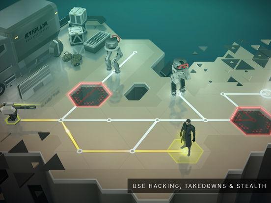 Deus Ex GO - Nové tahové hádanky z úspěšné série jsou tady