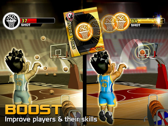 Big Win Basketball Screenshot
