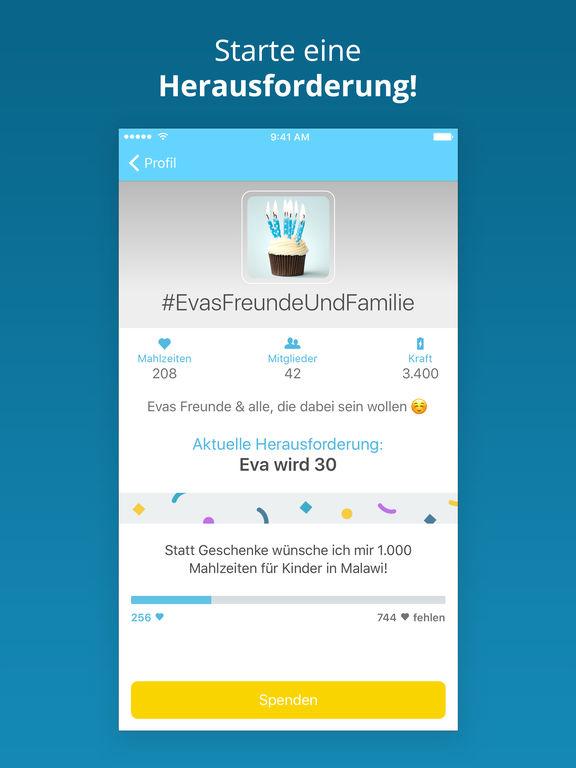 ShareTheMeal Screenshot