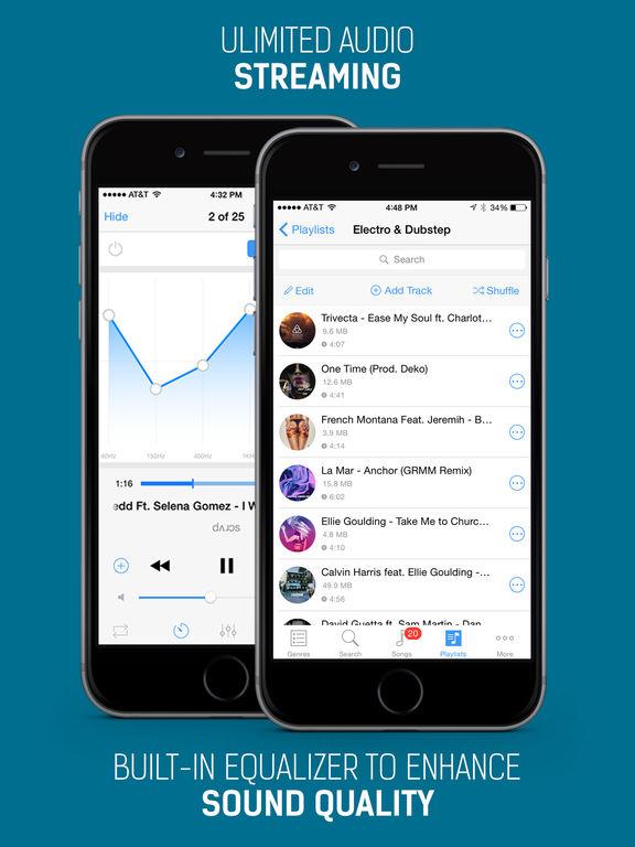 iMusic Free - Free Music Play & Mp3 Player Screenshot