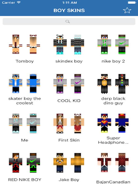 Best Poke BOY Skins Cute Skins For Minecraft PE By Aaron Kwok Shaz - Skins para minecraft pe nike