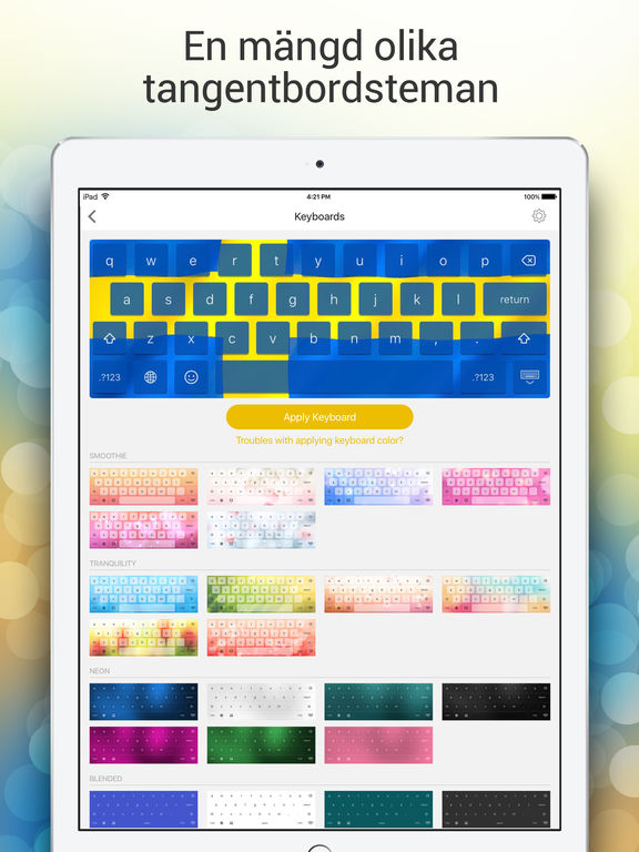 iPad-skärmavbild 2