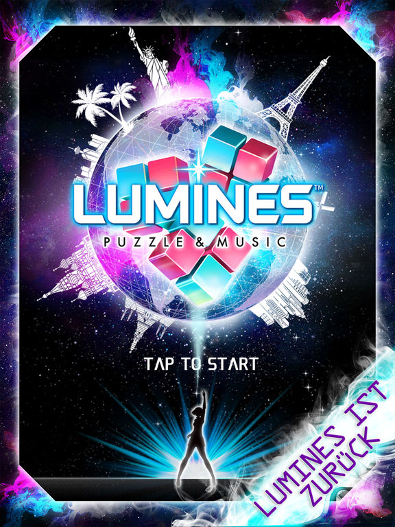 LUMINES PUZZLE AND MUSIC iOS Screenshots