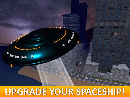 City UFO Flight Simulator 3D Full Screenshots