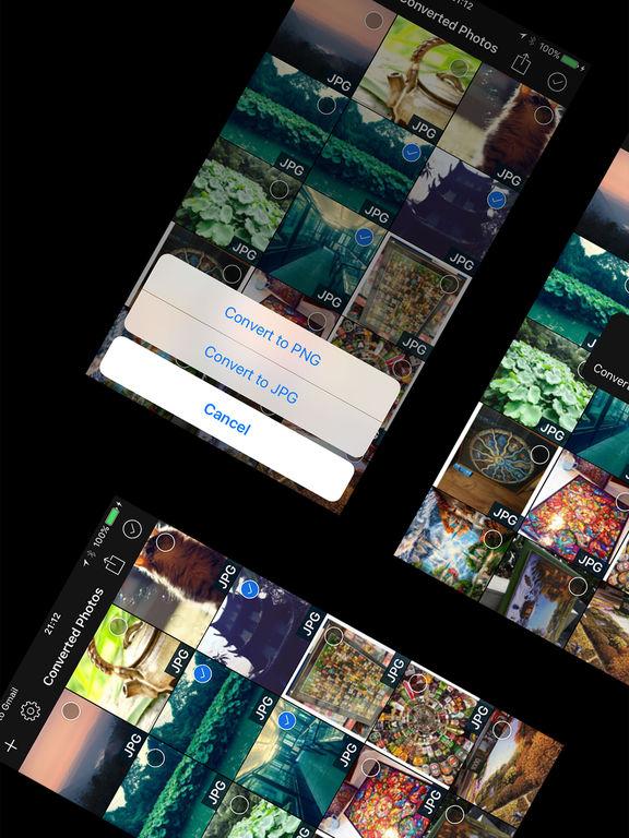 PNG <-> JPG Images Converter Screenshot