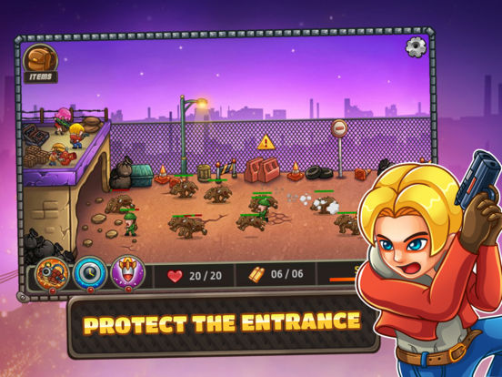Zombo Buster Rising iOS Screenshots