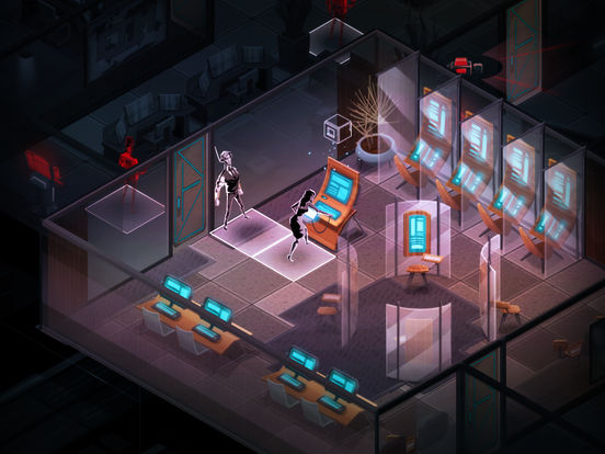 Invisible, Inc. iOS Screenshots