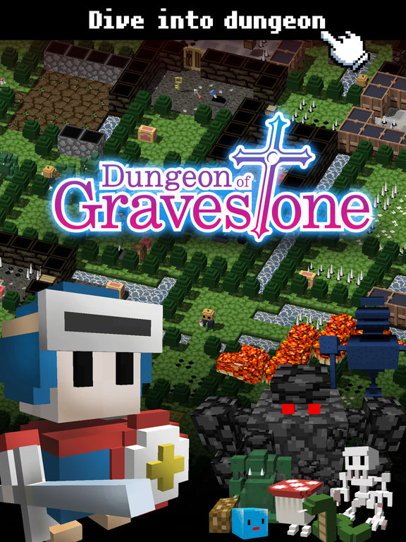 Dungeon of Gravestone iOS Screenshots