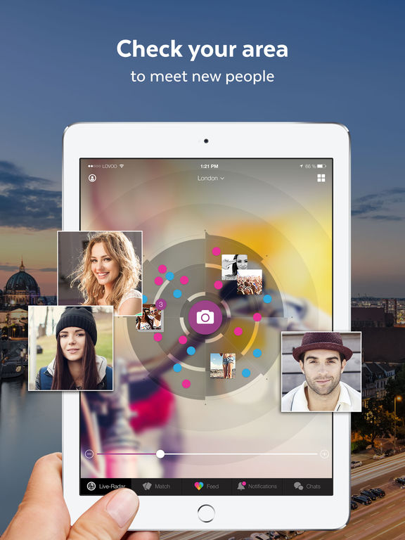 Captures d écran iPad