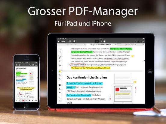 PDF Expert 5 – PDF-Formulare & Anmerkungen Screenshot