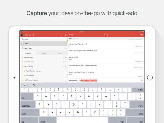Todoist: Liste des tâches | To-Do List Capture d'écran