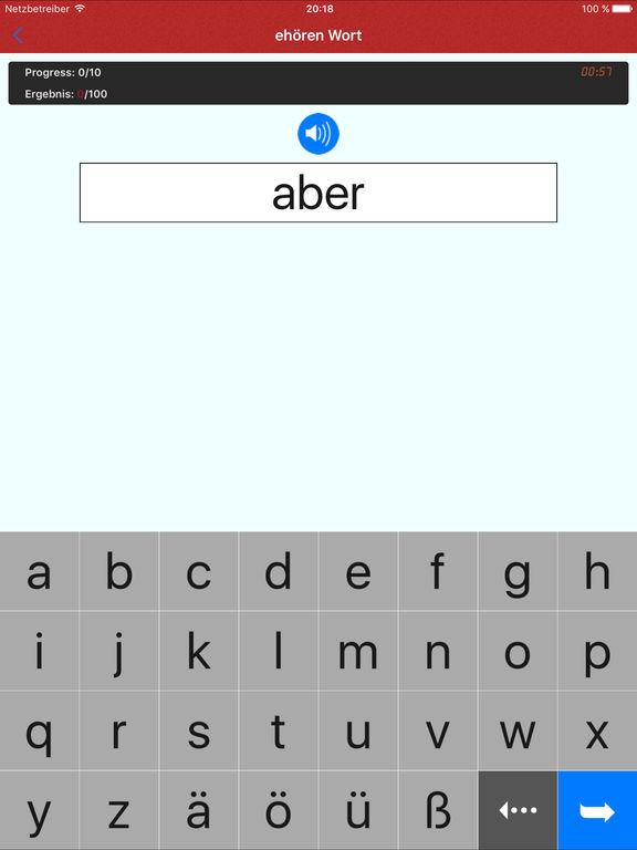 Deutsch Klänge - Lernen Deutsch Sprache Alphabet Screenshot
