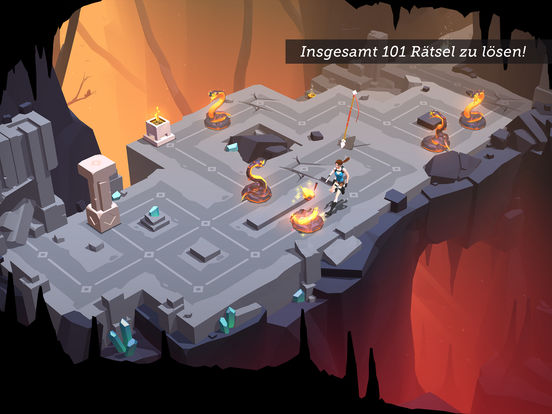 Screenshot 1 Lara Croft GO