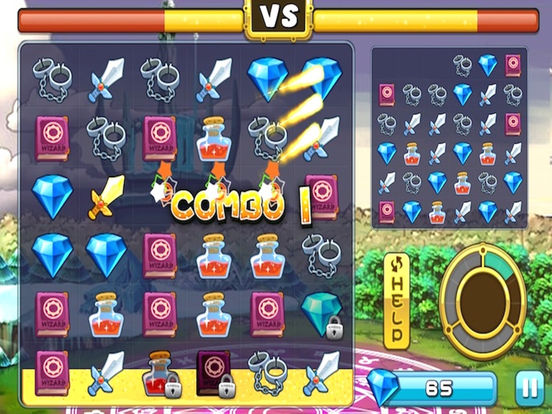 Jewel Fairy Saga - Diamond Eliminate:Beautiful girls with magic effects join the casual game Screenshots