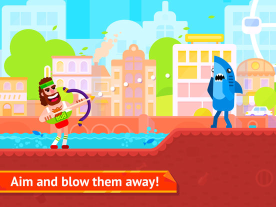Bowmasters - Top Multiplayer Bowman Archery Games iOS Screenshots