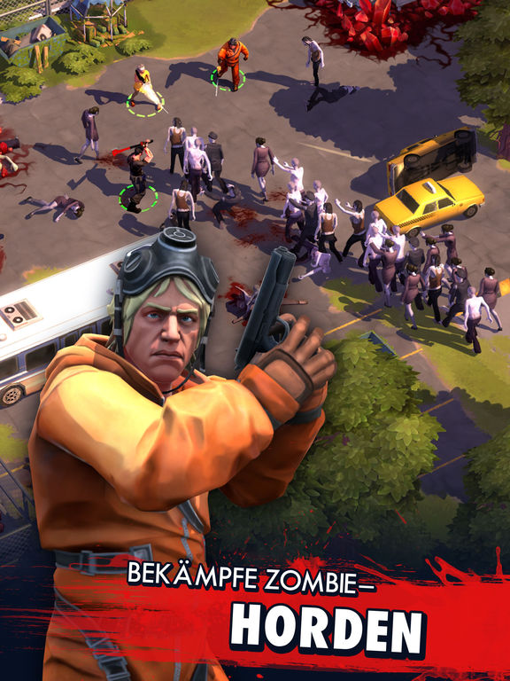 Zombie Anarchy: Survival Strategy Game iOS Screenshots