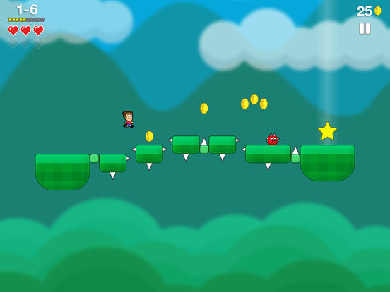 Mikey Jumps iOS Screenshots
