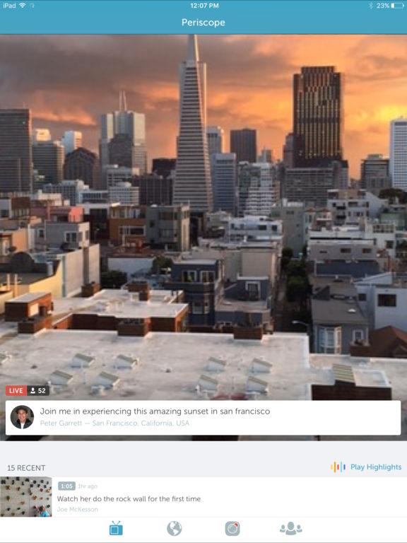 Periscope Screenshot