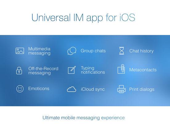 IM+ Pro. Screenshot