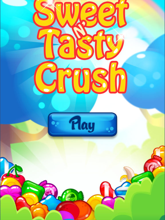 Sweet'n Tasty Crush iPad
