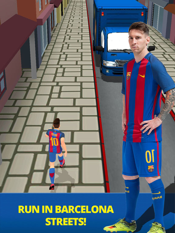 FC Barcelona Rush Último - Juego Oficial Screenshot