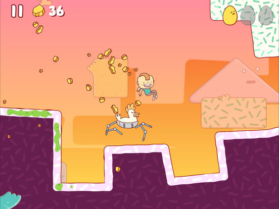 Screenshot 3 Eggggg – Das Puke-and-Run