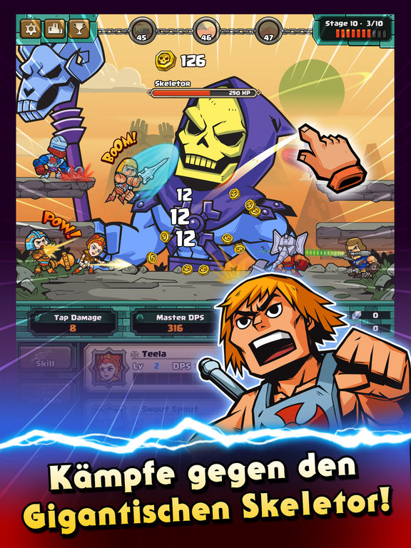 He-Man Tappers of Grayskull iOS