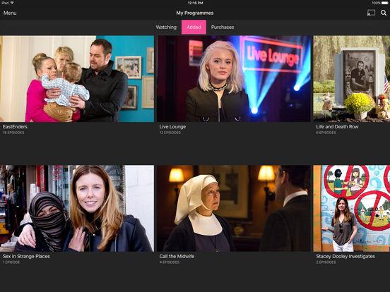 BBC iPlayer Screenshots