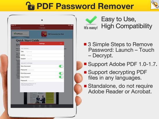 pdf password remover crack version